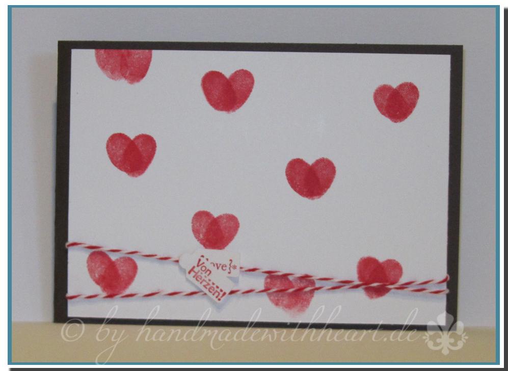 valentinstag handmadewithheart. Black Bedroom Furniture Sets. Home Design Ideas
