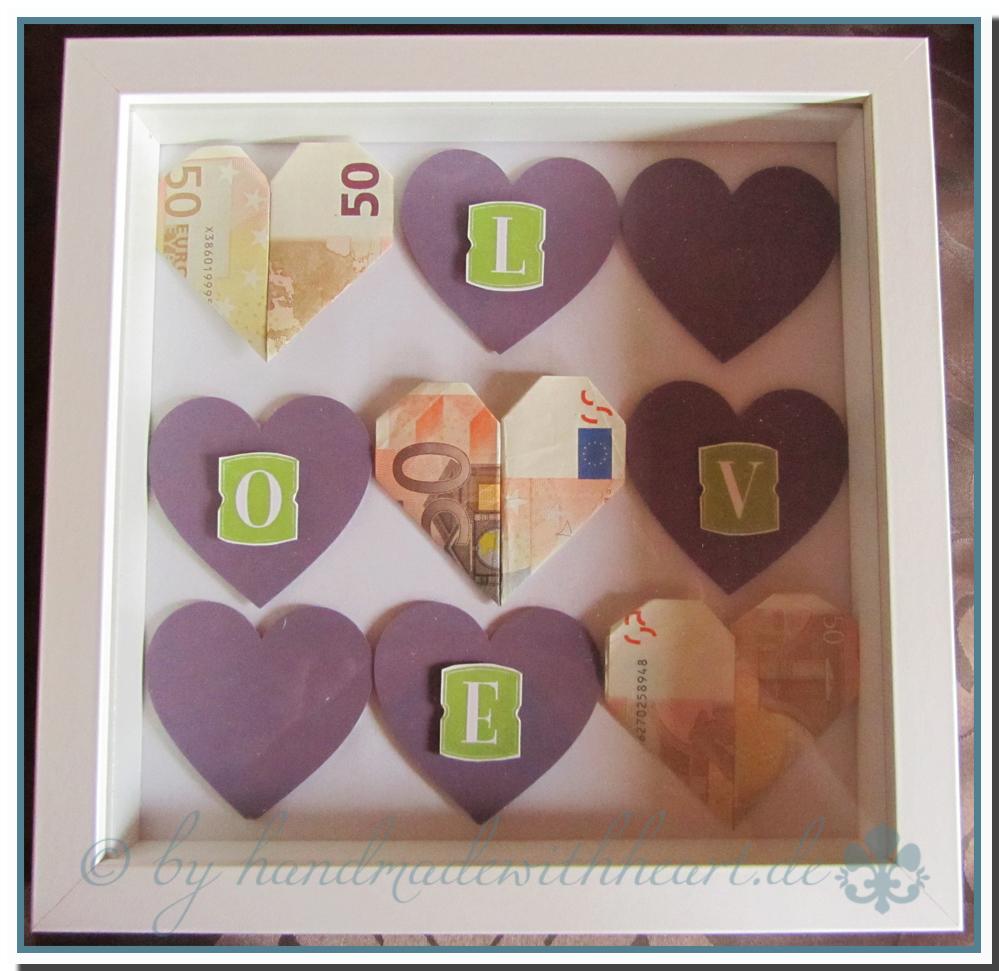 Hochzeitskarte Und Geschenk Handmadewithheart