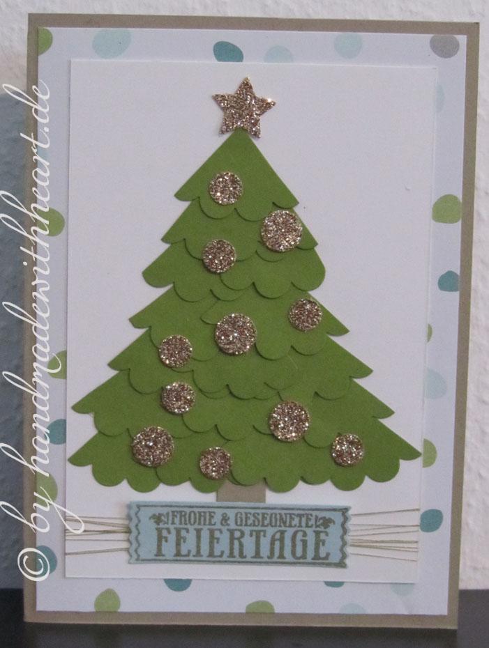 wir haben unseren weihnachtsbaum handmadewithheart. Black Bedroom Furniture Sets. Home Design Ideas